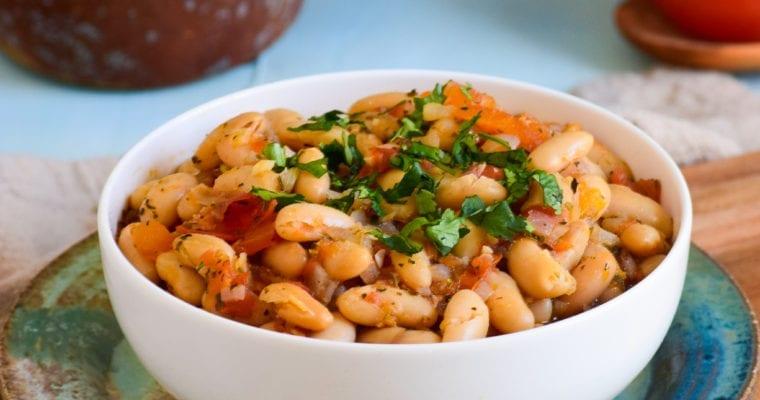 30-Minute White Bean Turkish Stew  Fasulye
