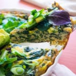 skinny girl keto crustless quiche