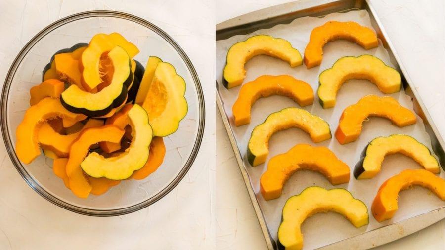How to Make Vegan Acorn Squash