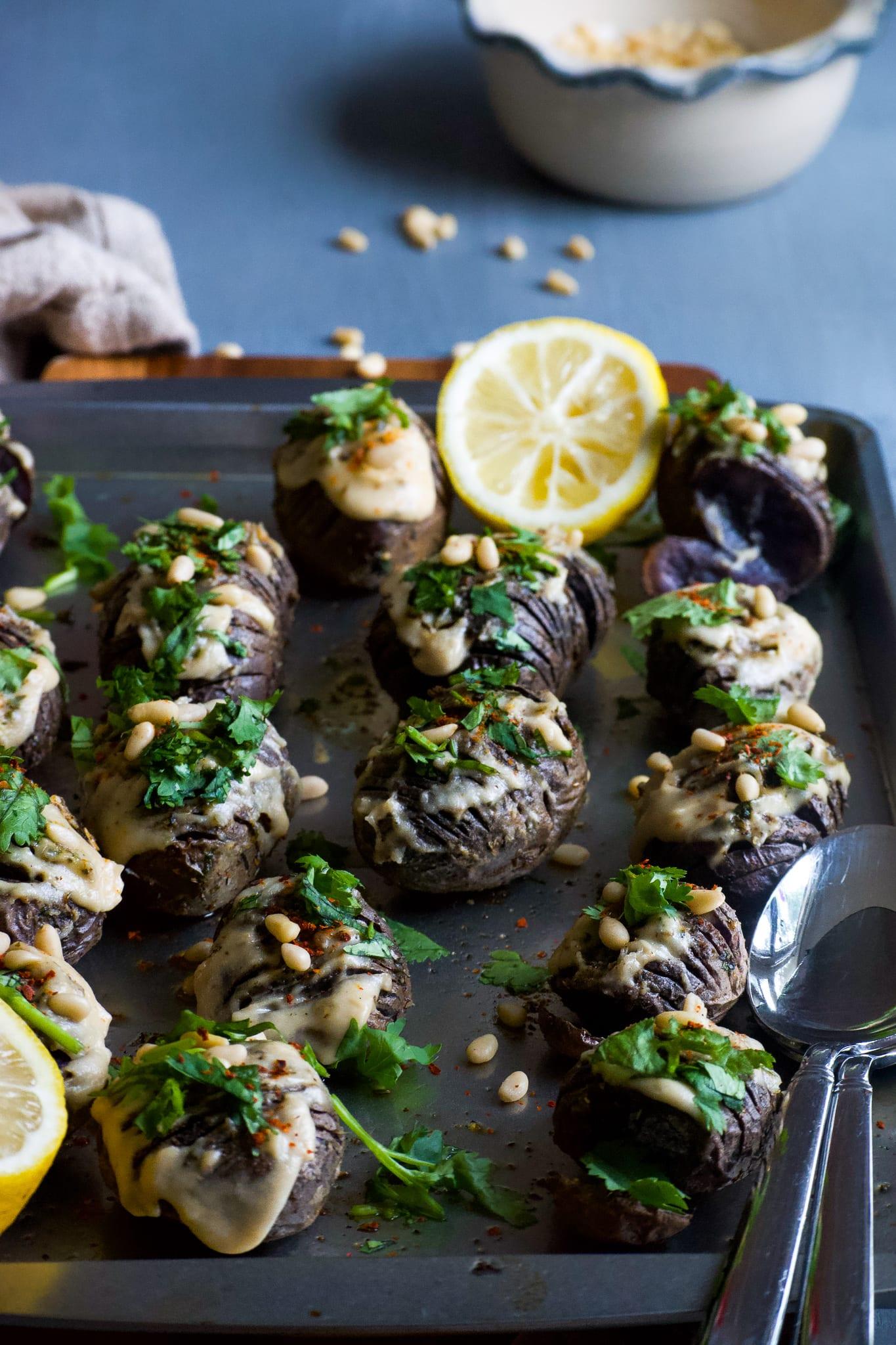 vegan purple potato recipe