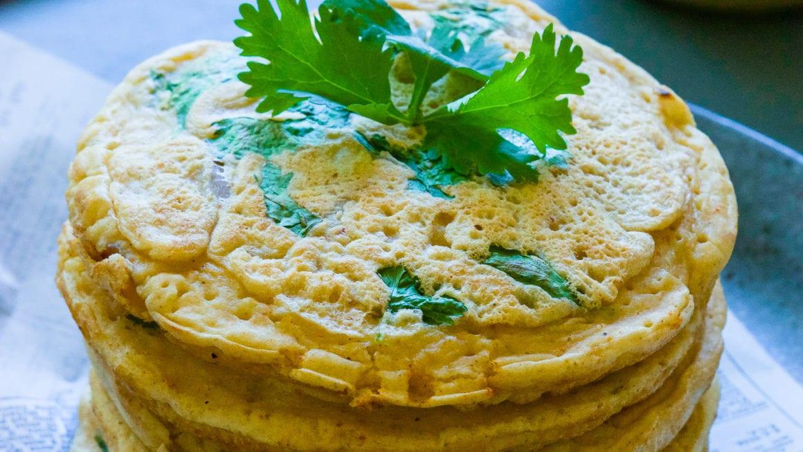 Crispy Kimchi Pancakes –Gluten-free