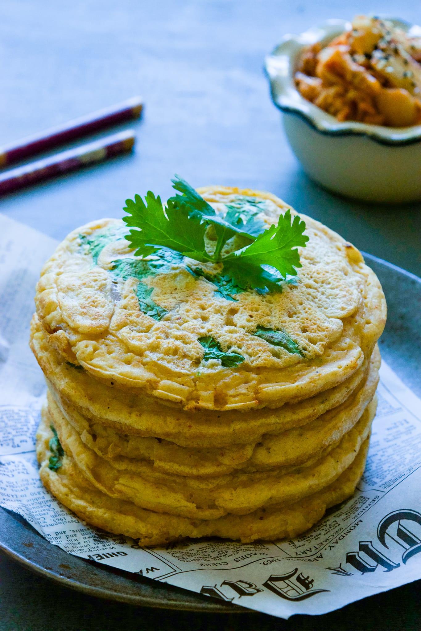 how to make gluten-free kimchi pancakes