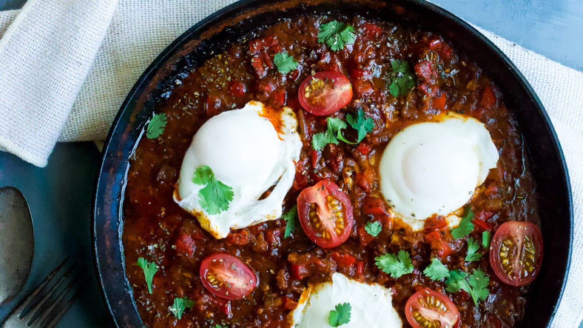 How to Make Mexican-Style Shakshuka