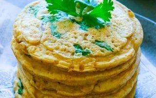 how to make gluten free kimchi pancakes recipe