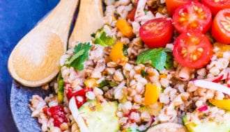 buckwheat salad posh plate