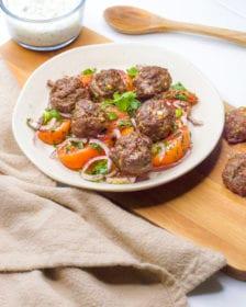 easy Mediterranean meatballs