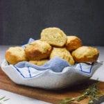 Rosemary Yogurt Biscuit Muffins