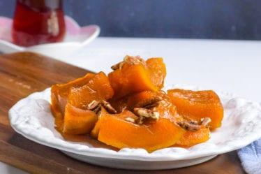 how to make Turkish style dessert kabobs tatli