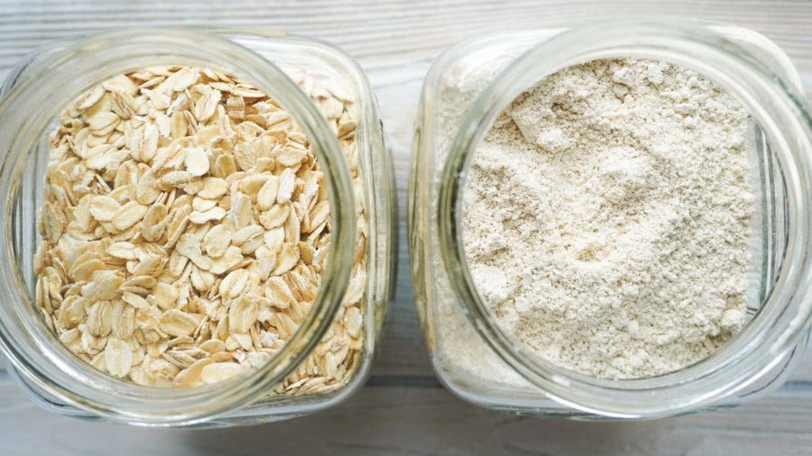 how to make oat flour easy recipe