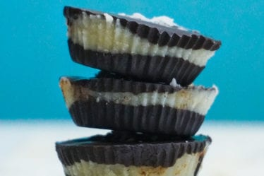 chocolate coconut butter cups dairy free vegan