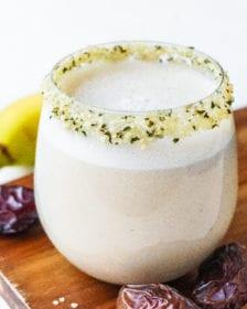 the best banana date shake recipe posh plate
