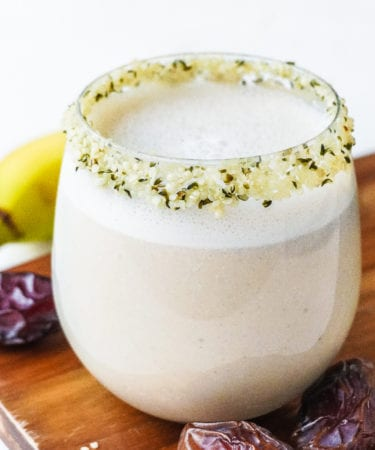 the best banana date shake recipe posh plate