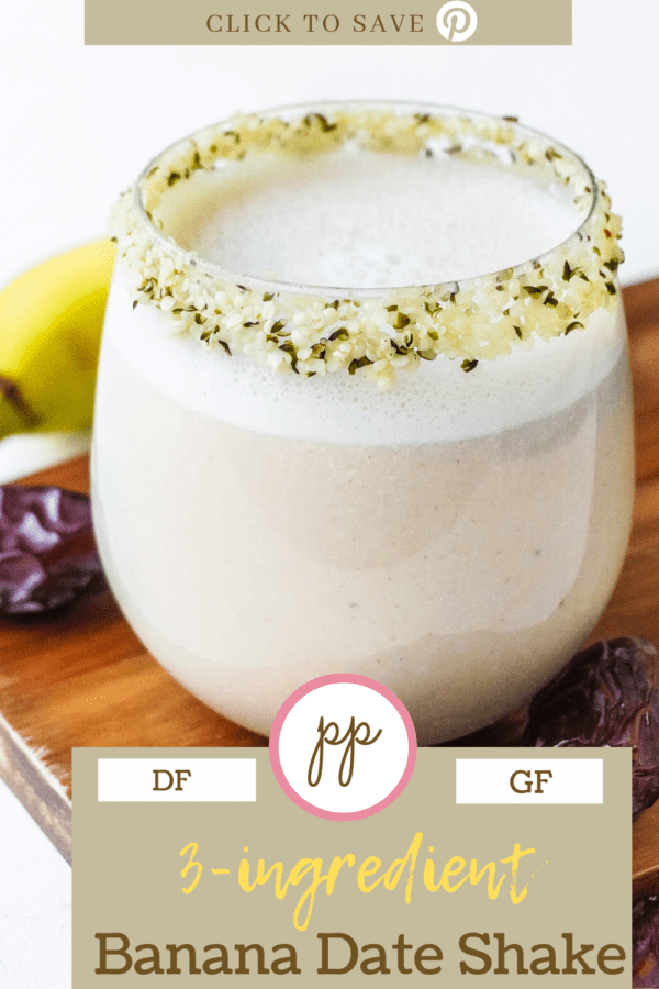 the best banana date shake recipe Pinterest posh plate