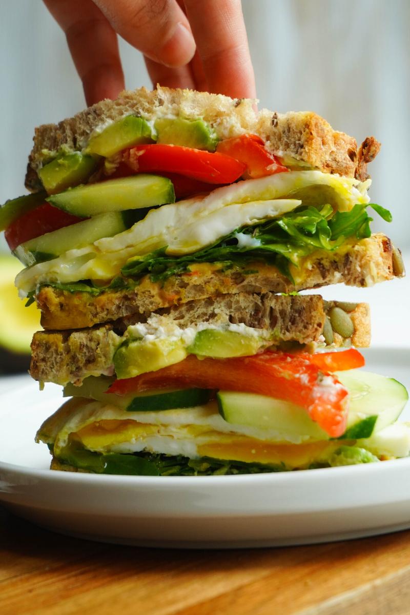 the best egg sandwich posh plate