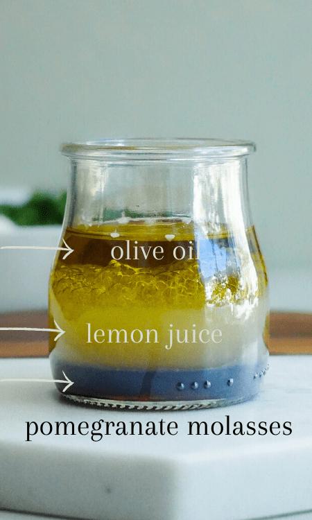 light olive oil dressing