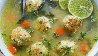 healthy gluten free chicken soup