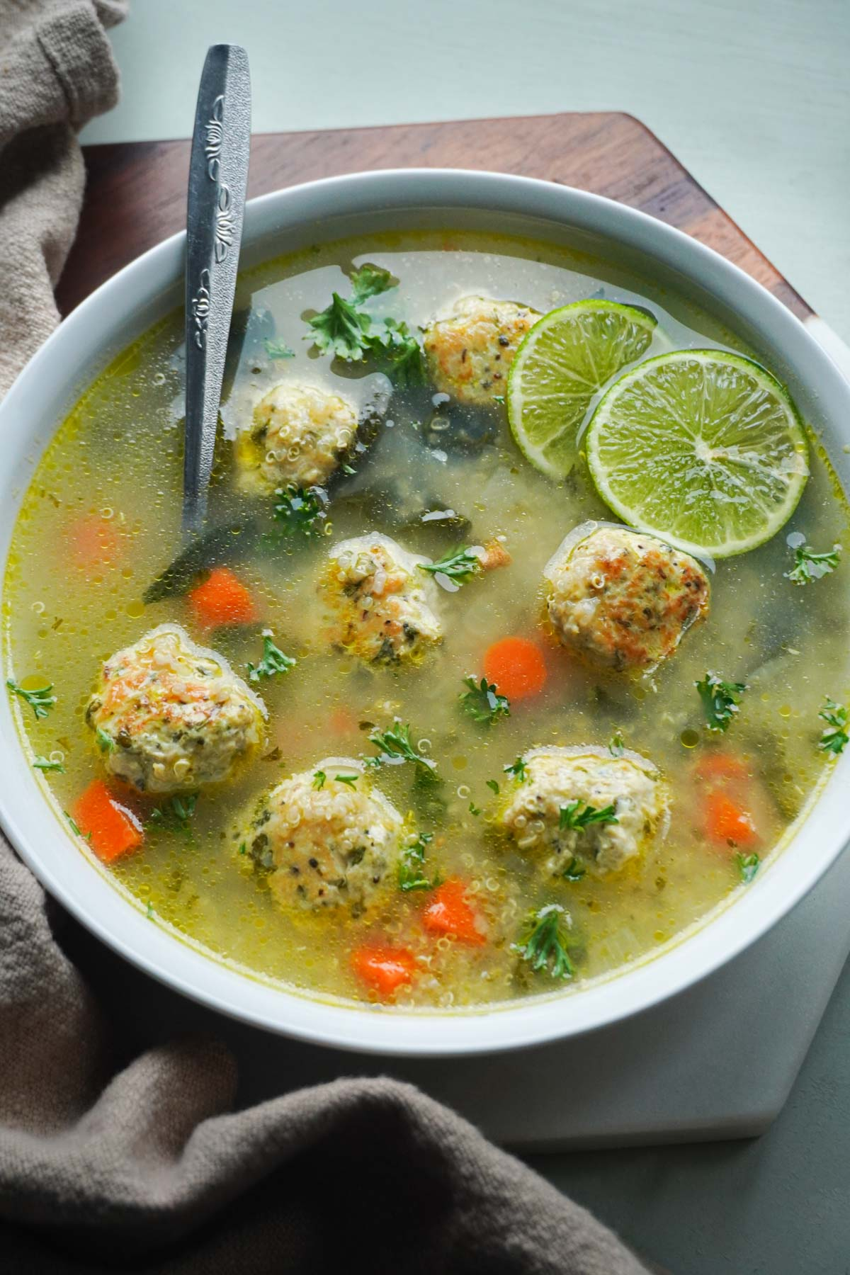 healthy gluten free chicken soup