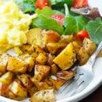 Easy healthy baked potatoes recipe