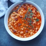 Kuru-Fasulye white bean stew recipe