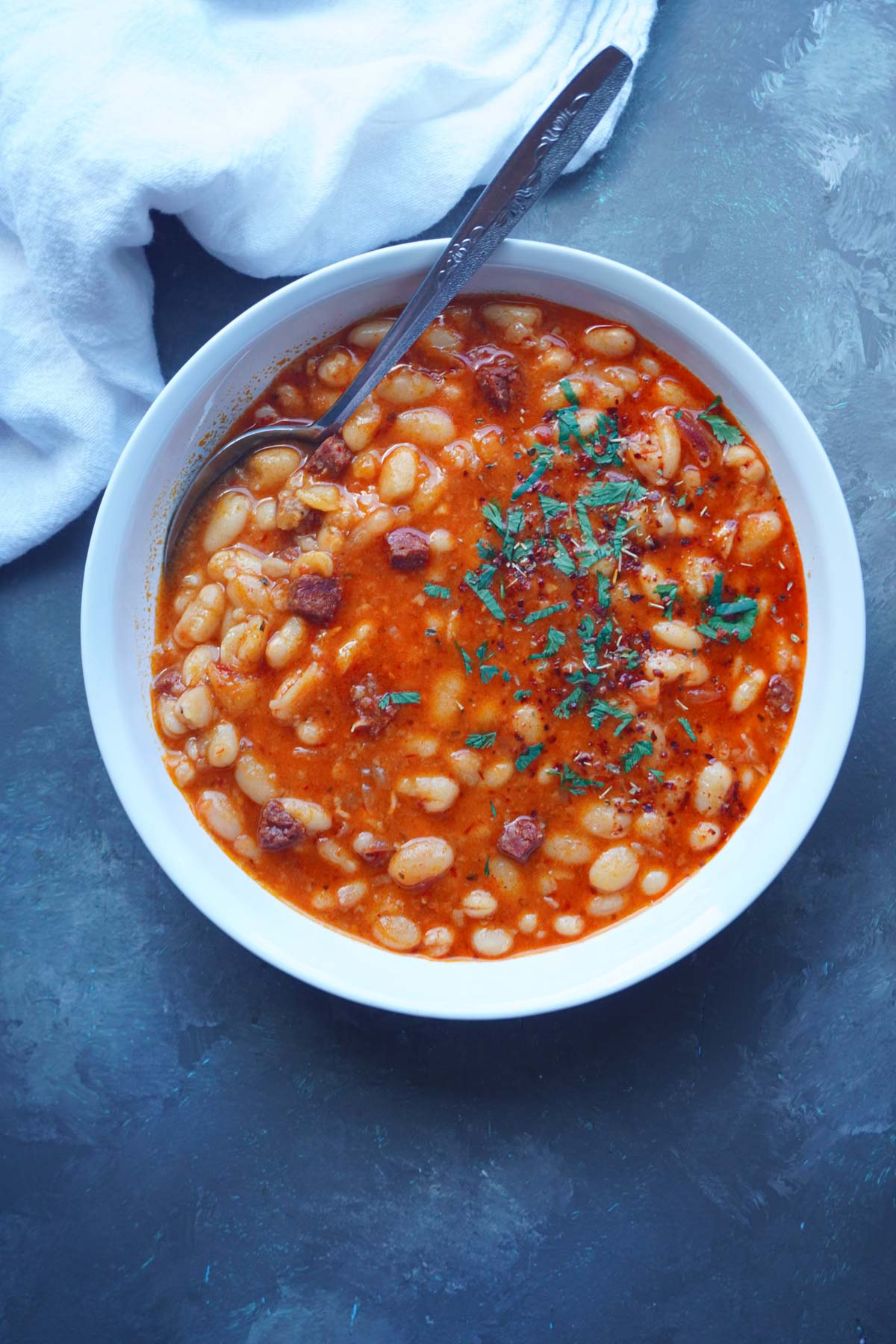 Kuru-Fasulye white bean stew recipe