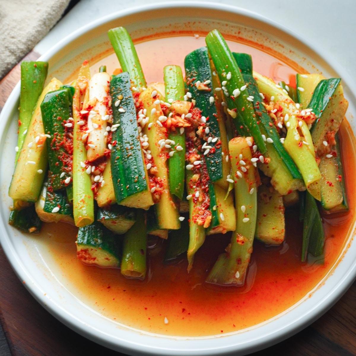 korean cucumber kimchi recipe