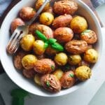 roasted-potatoes-with-garlic-and-basil