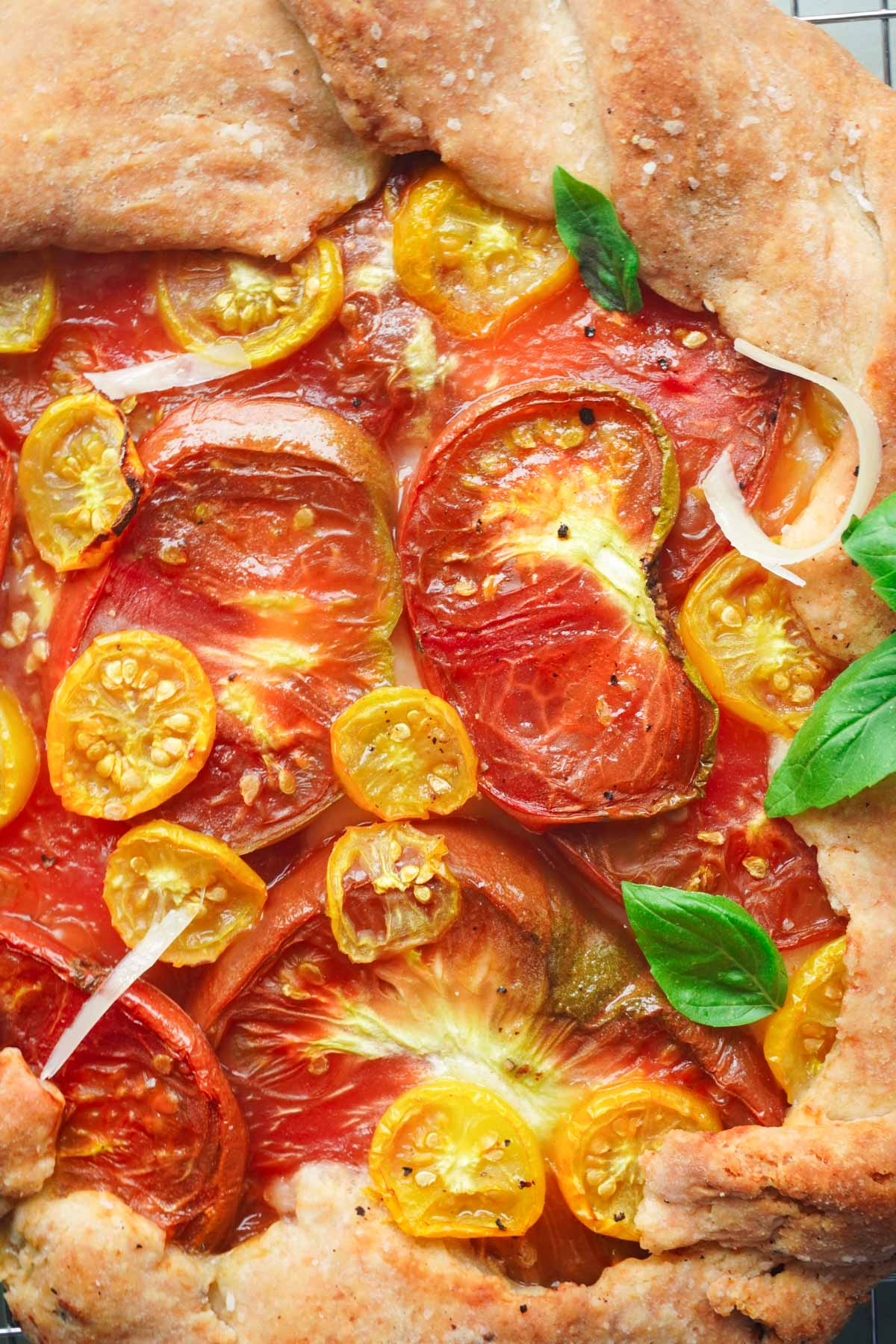 savory heirloom tomato recipe posh plate