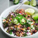 spicy roasted corn salad
