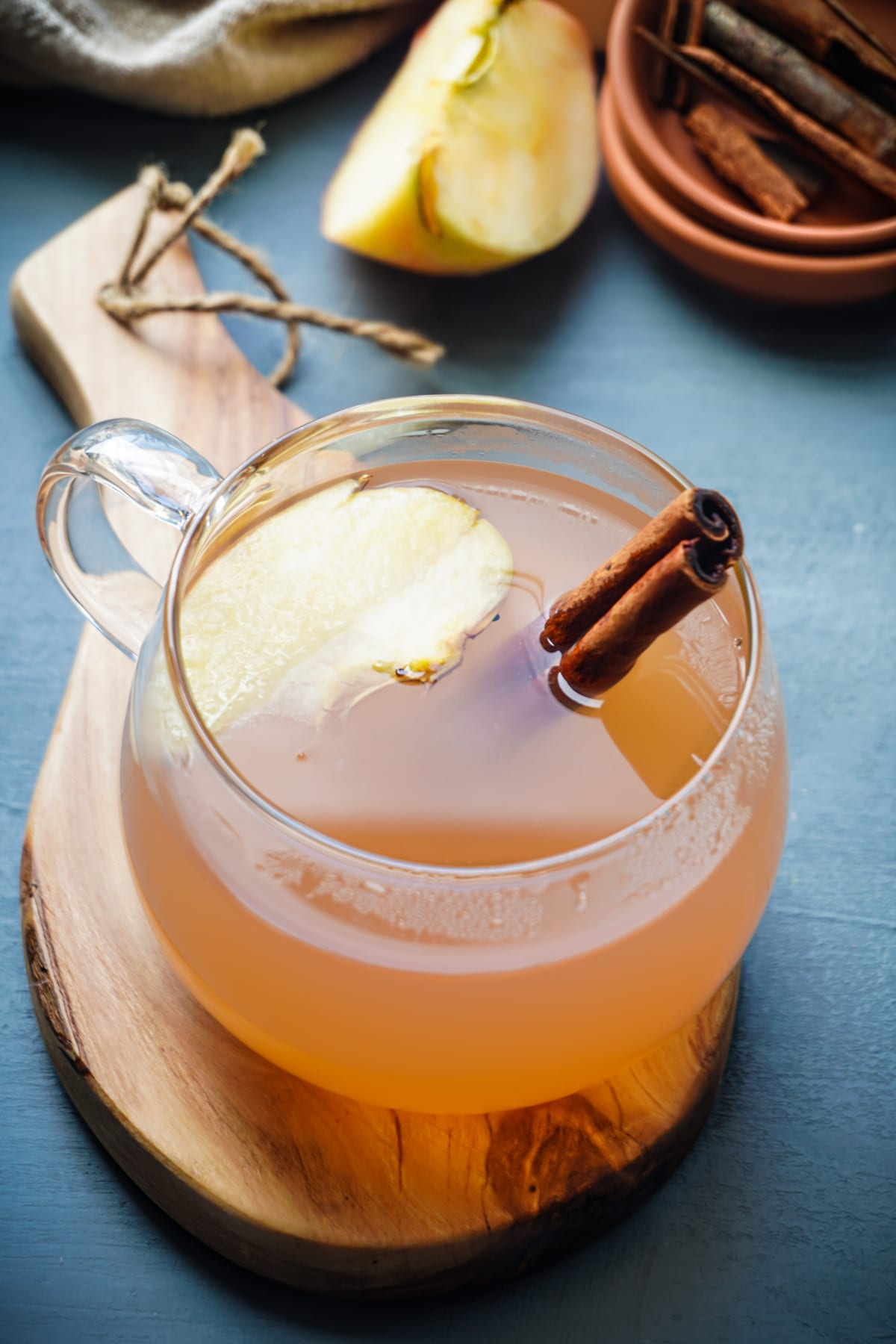 healthy apple tea