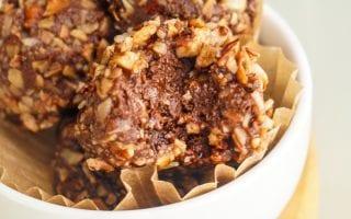 german chocolate cake truffles