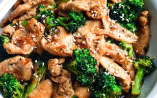 chinese chicken and broccoli