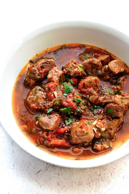 Mediterranean Lamb Stew Recipe