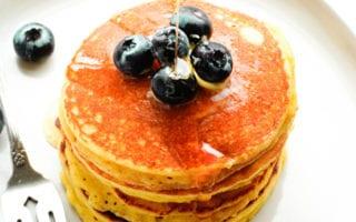 almond flour pancakes recipe