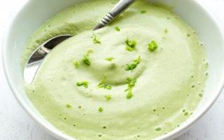 cilantro lime cashew cream recipe