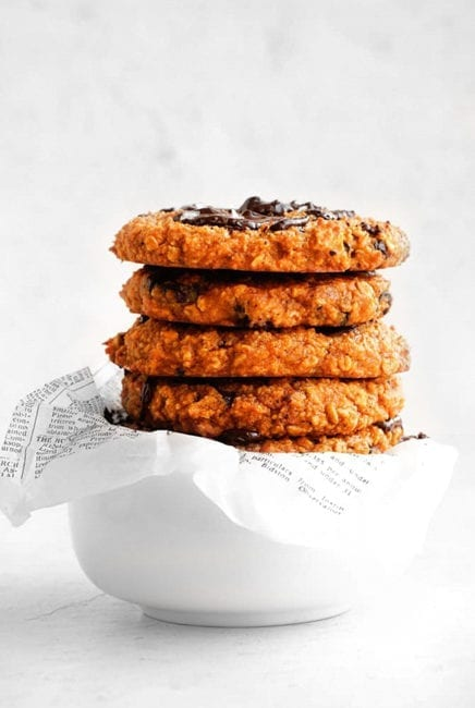 Sweet Potato Breakfast Oat Cookies