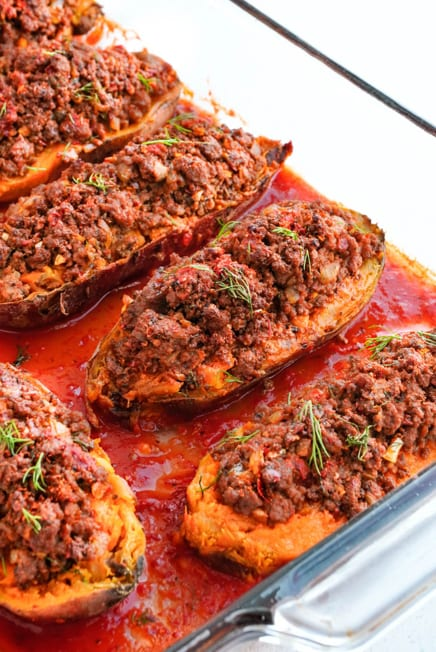 stuffed sweet potato recipe